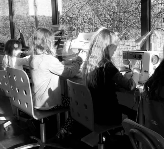 Un atelier couture enfants très... créatif !